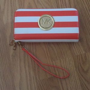 Summer Striped Wallet